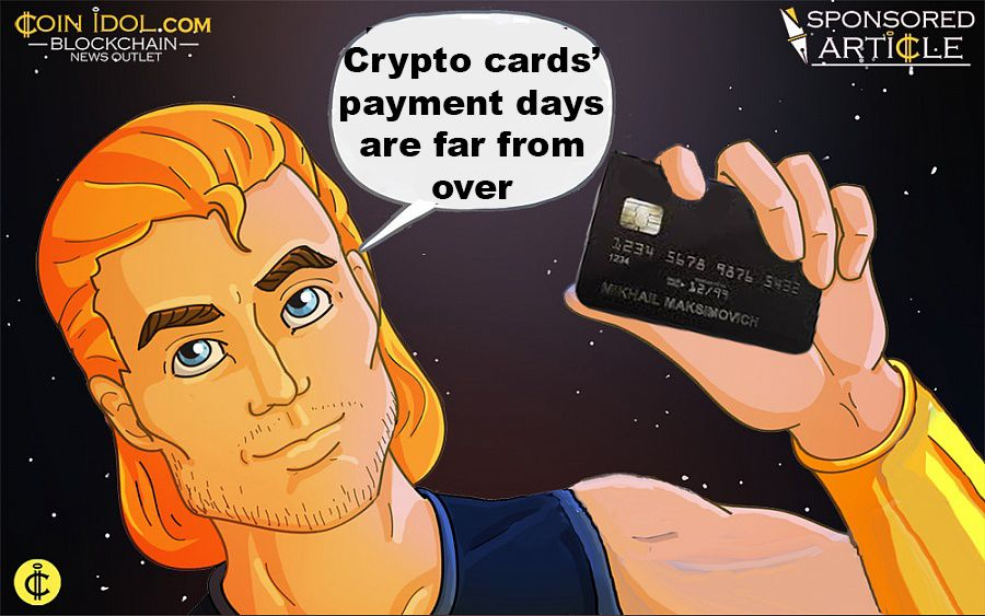 Crypto cards' payment days are far from over