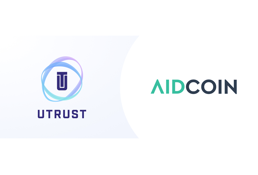 The partnership will enable UTRUST users to make instant, seamless and secure donations to charities using 23 different cryptocurrencies through AIDChain, via the UTRUST interface.