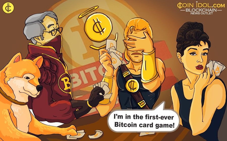 """Bitcoin Empire"" card game, that simulates the Bitcoin ecosystem and aims to expand cryptocurrency popularity among board gamers."