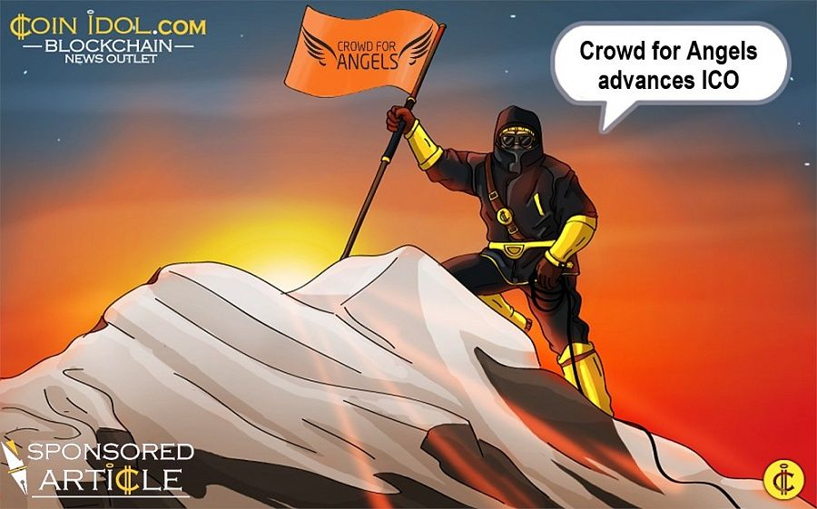 Crowd for Angels ICO Progressing Ahead of Schedule 28615191afdc649816238438713c81fb