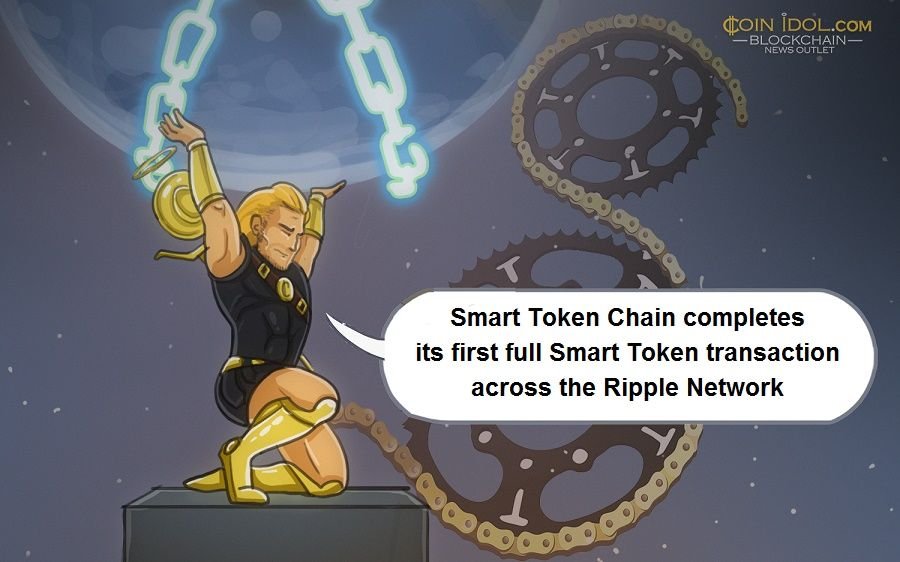 Smart Token Chain has announced the completion of its first full Smart Token transaction across the Ripple Network.