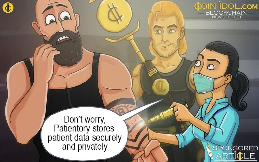 Patientory patient care using Blockchain