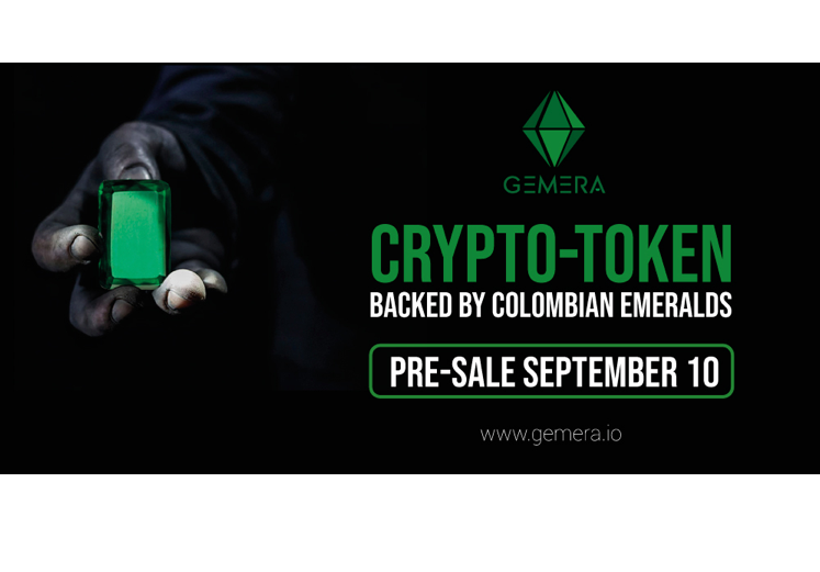 GEMERA is the only crypto-token backed by Colombian emeralds, whose purpose is to create a blockchain based platform to connect emerald producers and investors.