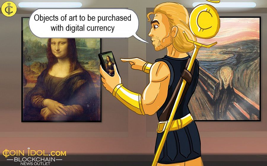 Art to be Purchased with Digital Currency