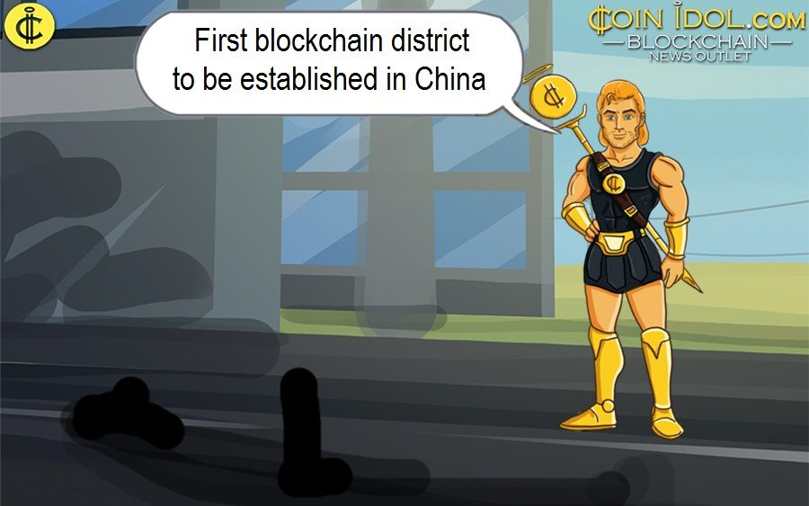 First blockchain district to be established in China