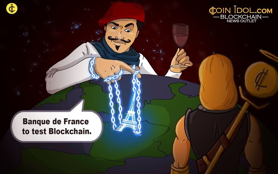 France experimenting with Blockchain