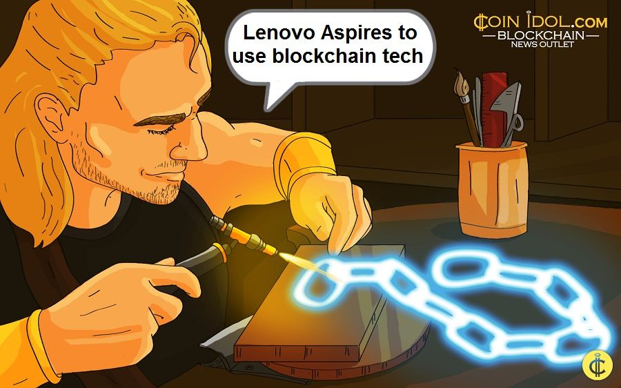Lenovo Aspires to use blockchain tech