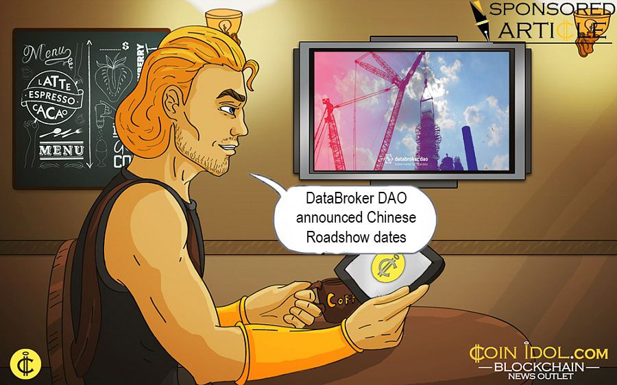 DataBroker DAO Announced Chinese Roadshow Dates