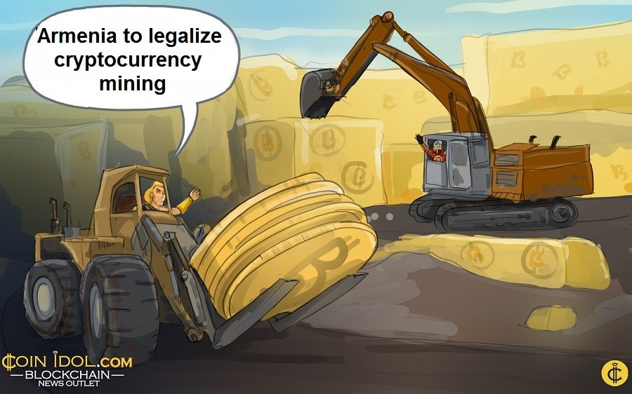 Armenia to legalize cryptocurrency mining