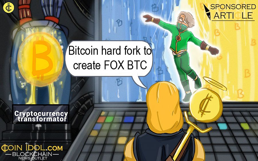 Bitcoin hard fork to create FOX BTC