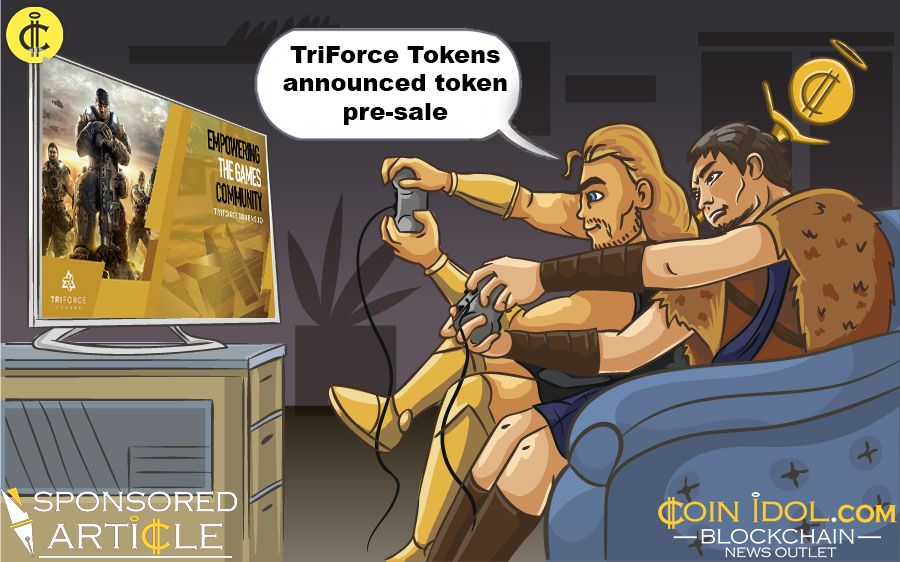 TriForce Tokens announced its token pre-sale