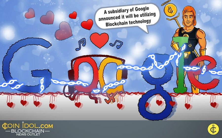 A subsidiary of Google announced it will be utilizing blockchain in securing patient data.