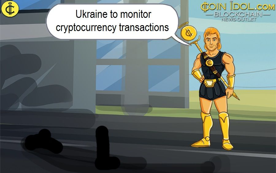 Ukraine to monitor cryptocurrency transactions