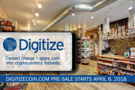 Digitize Coin converts loose change into cryptocurrencies