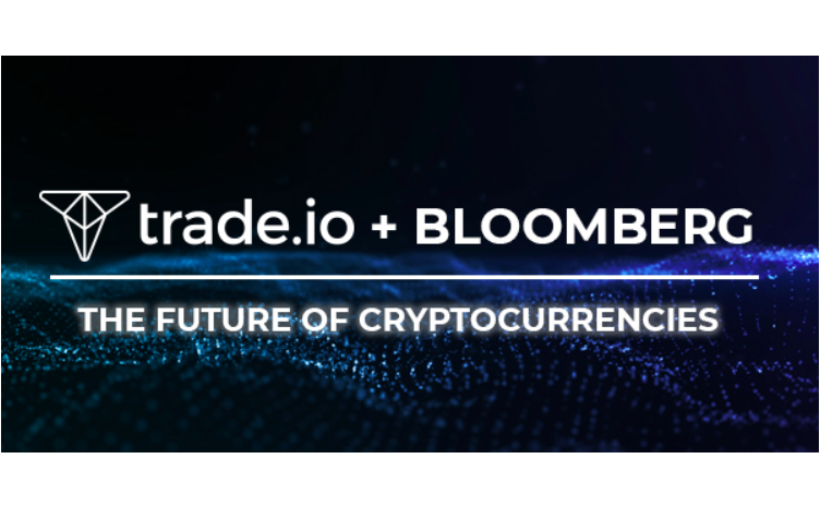 "Bloomberg's ""The Future of Cryptocurrencies"" is sponsored by trade.io and is the first event exclusively focused on cryptocurrencies produced by Bloomberg Live."