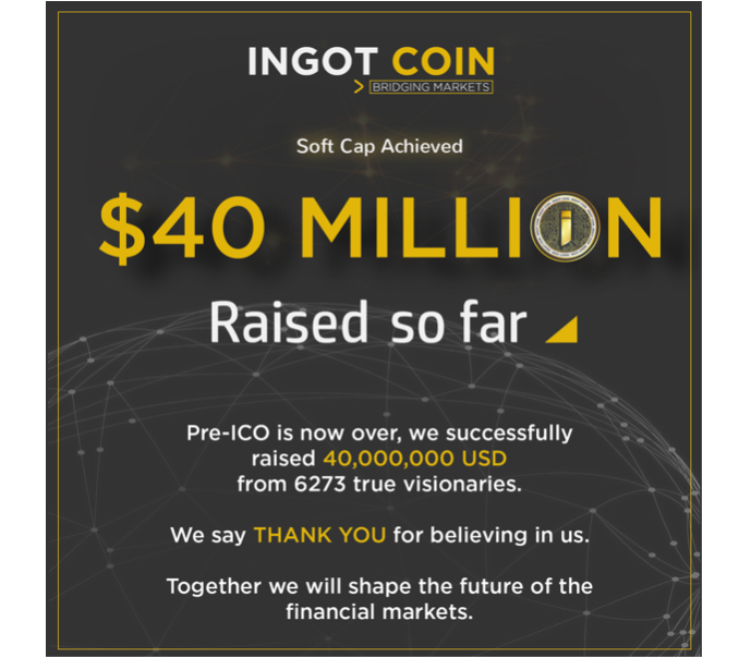 INGOT Coin is about building an interconnected global community of trust and cooperation—the basis of which is honesty and transparency among its members.