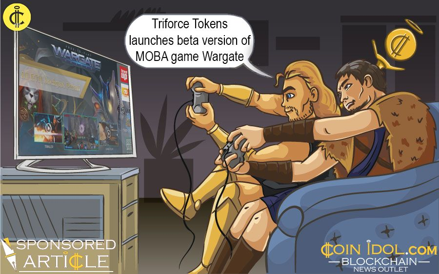 TriForce Tokens launches Wargate