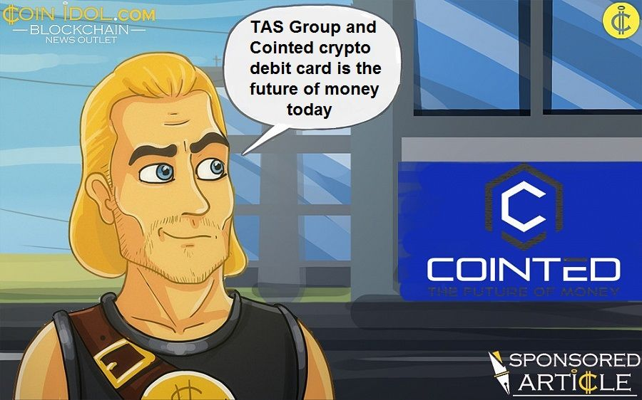 TAS Group and Cointed crypto debit card