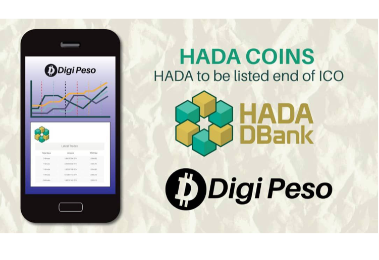 HADA Coin acquires listing