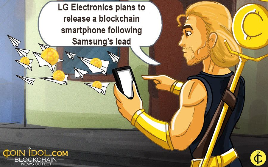 LG to release a blockchain smartphone