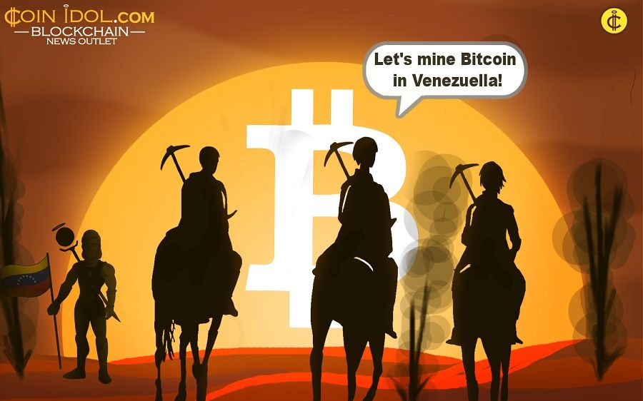 Venezuelans turn to bitcoin mining to offset effects of economic depression