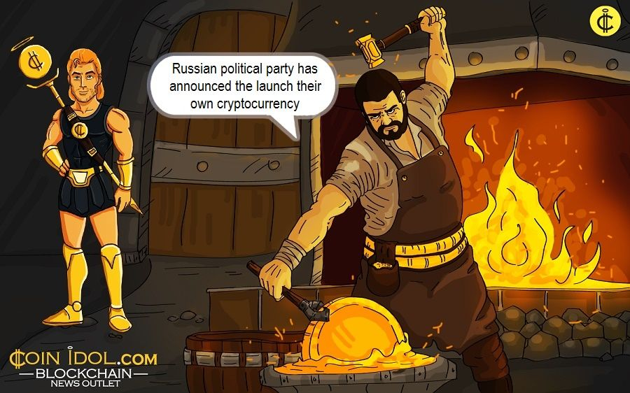 "Russian political party Party of Growth has recently announced the launch of their own cryptocurrency, called ""Upcoin""."