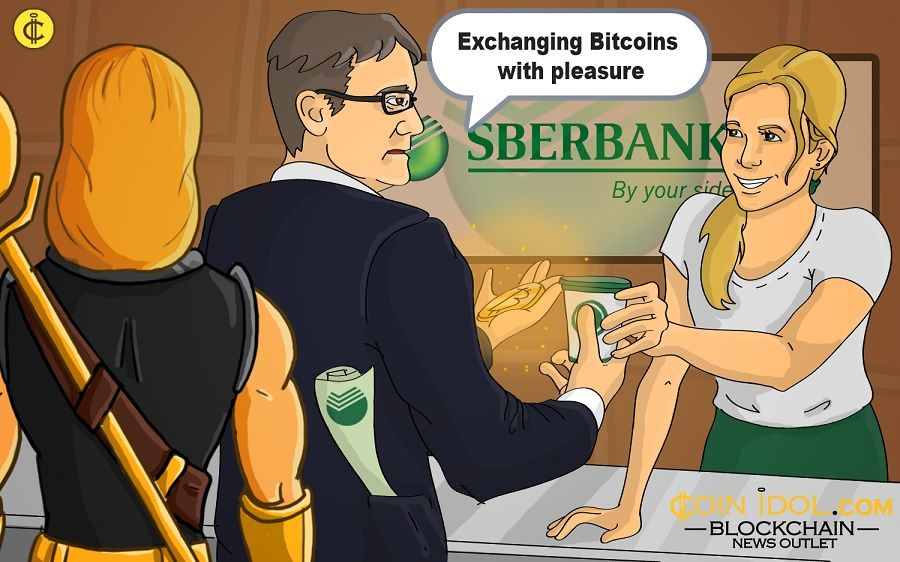 The head of Russia's largest bank has confirmed that he has exchanged some of the Bitcoins he had into fiat money.