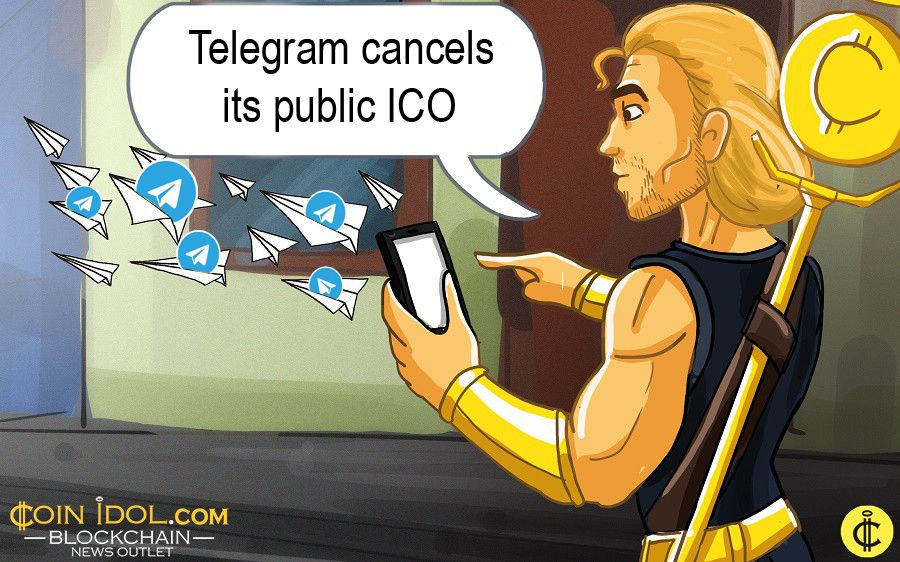 Telegram cancels its public ICO