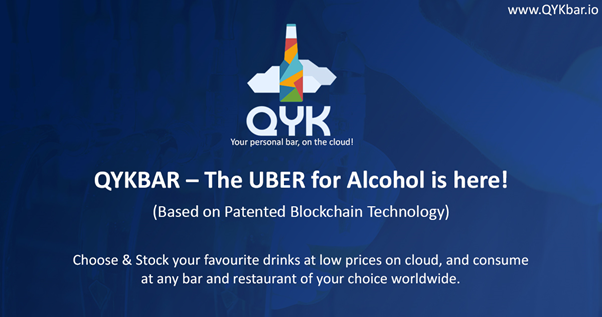 QYK plans to use patented blockchain technology