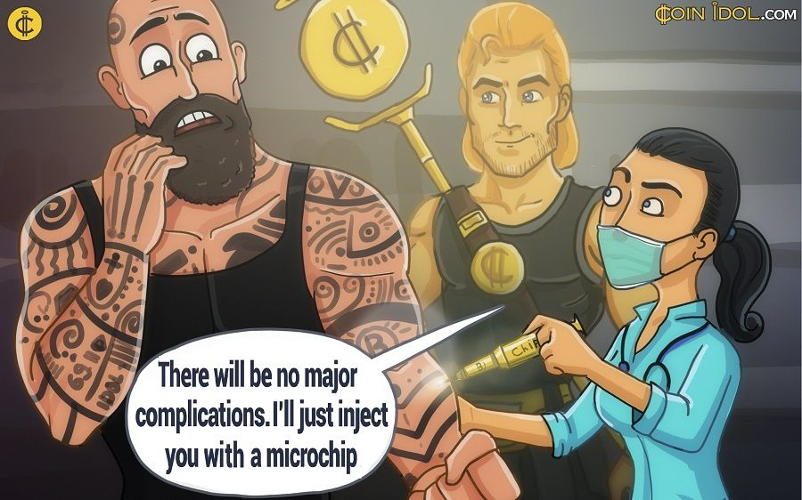 Implanting Bitcoin Microchips Under Your Skin