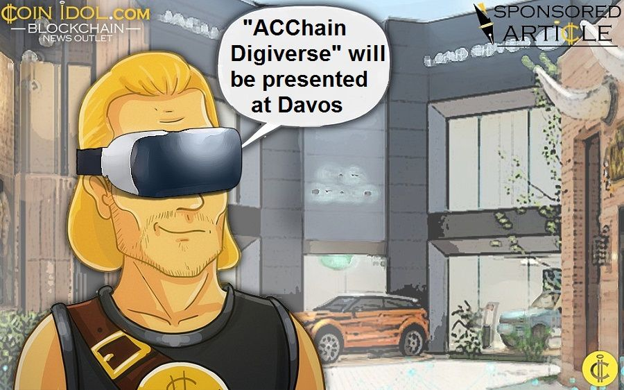 "Ms Wan Jia to present ""ACChain Digiverse"" at Davos"