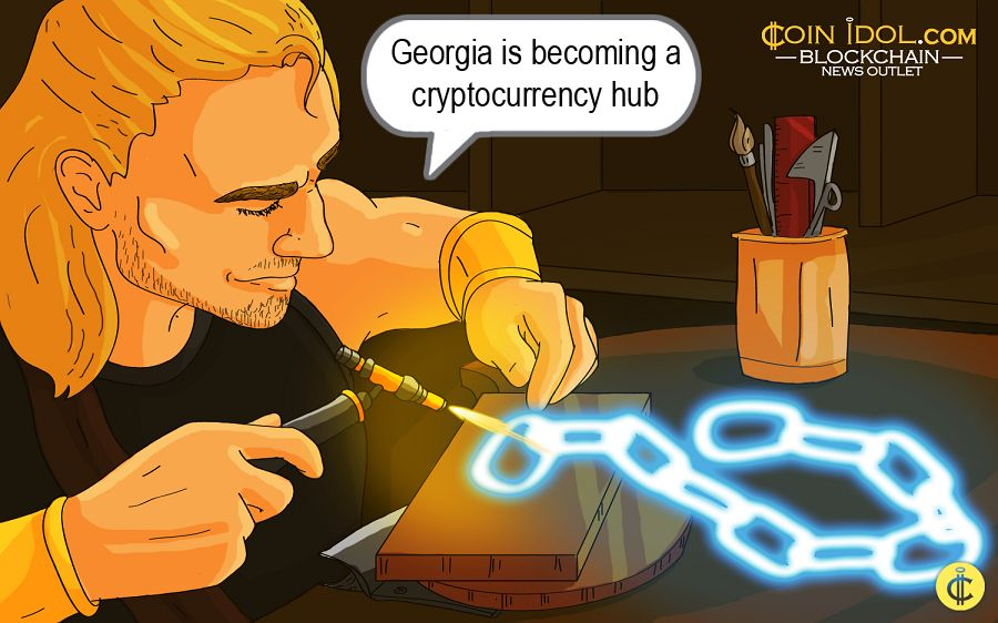 Georgia is becoming a cryptocurrency hub