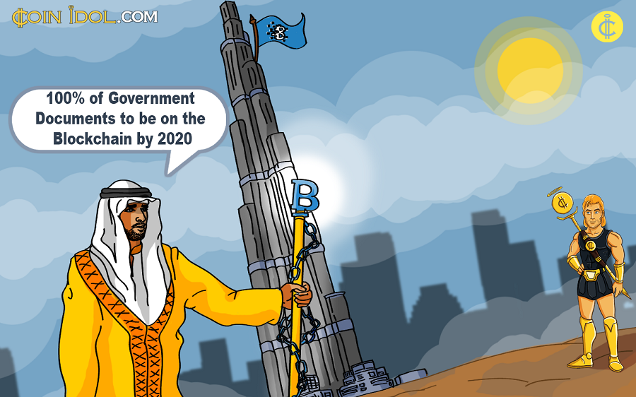 Crown Prince of Dubai wants to use Blockchain for Government Documents By 2020
