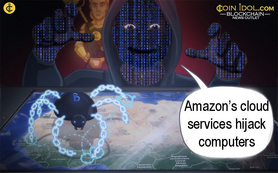 Amazon cloud services hijack computers