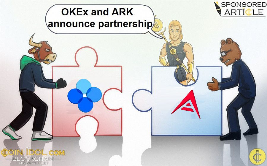 OKEx and ARK announce partnership