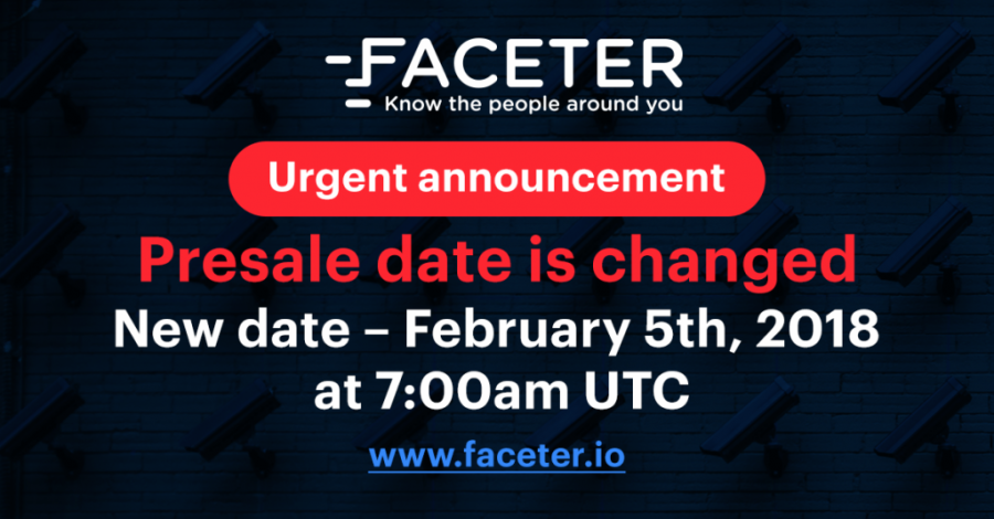 Faceter presale dates