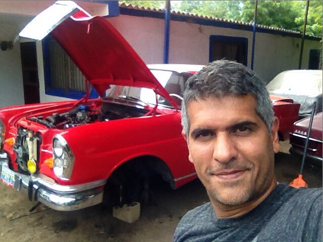 A private car reseller, Joubert López, who was introduced to Bitcoin in September 2014.