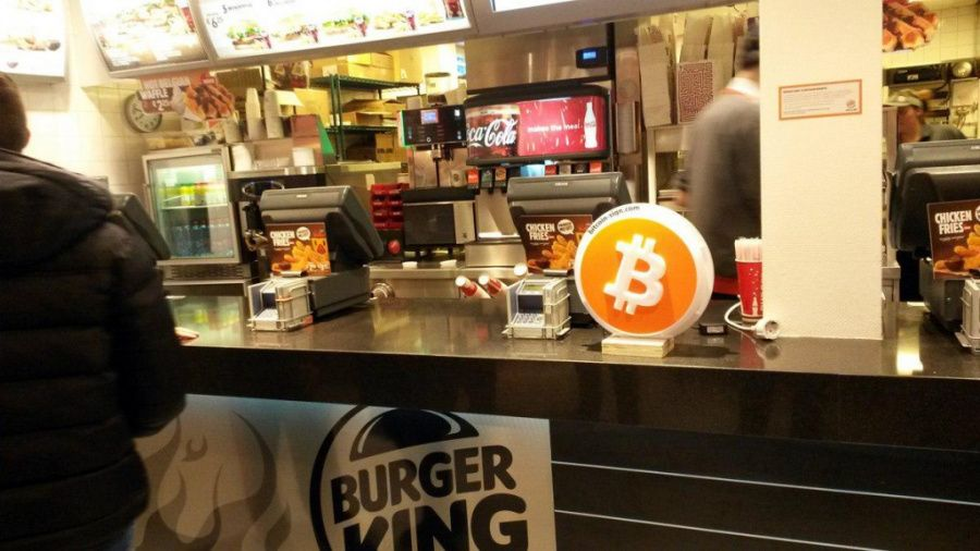 Burger King accepting Bitcoin in Netherlands