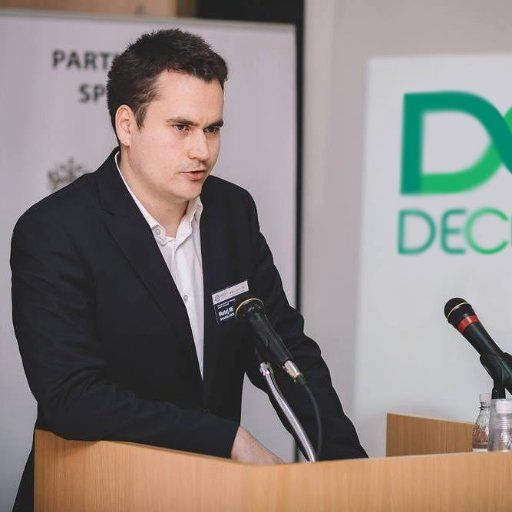 Matej Michalko, another Founder, and CEO of Decent