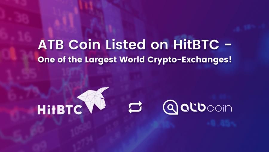 ATB Coin is Listed on the HitBTC Exchange