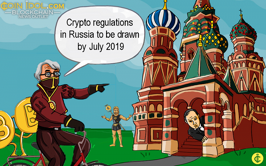 President of the Russian Federation Vladimir Putin has asked his government to draft blockchain and crypto regulations no later than July 1, 2019.