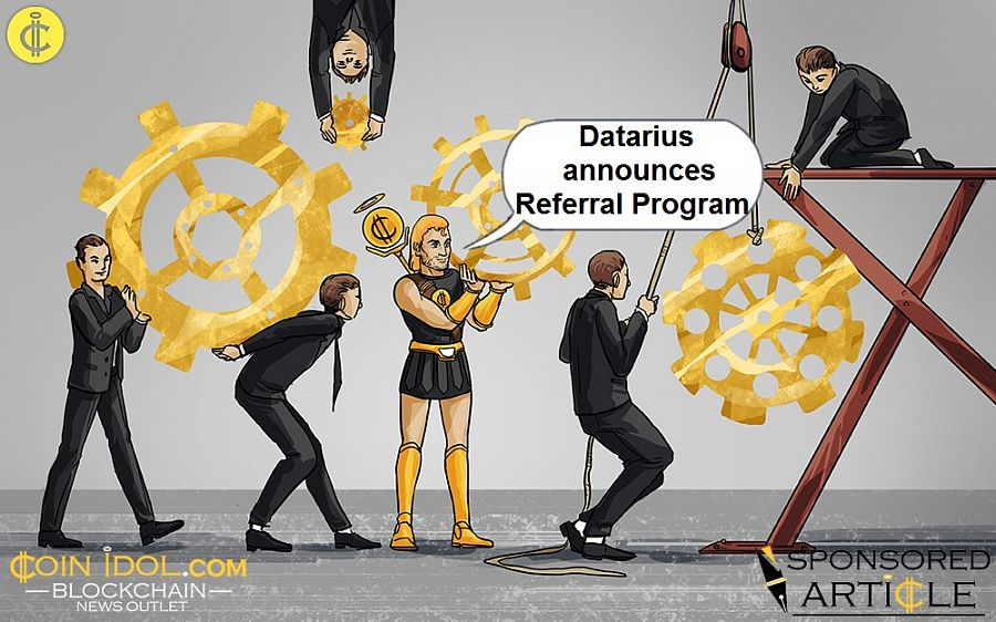 Datarius announces referral program