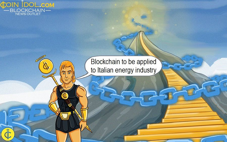 Blockchain to be applied to Italian energy industry