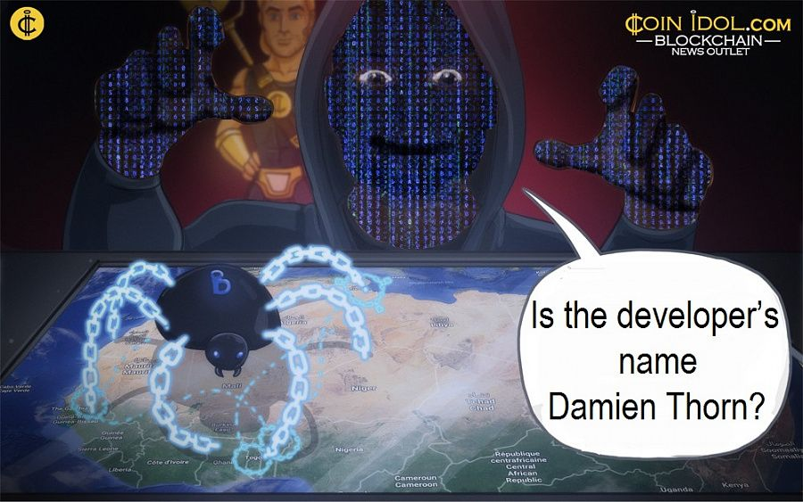 Is the developer's name Damien Thorn?