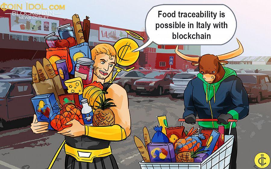 Blockchain food traceability