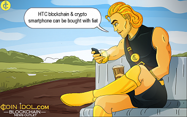HTC Blockchain & Crypto Smartphone Can be Bought with Fiat