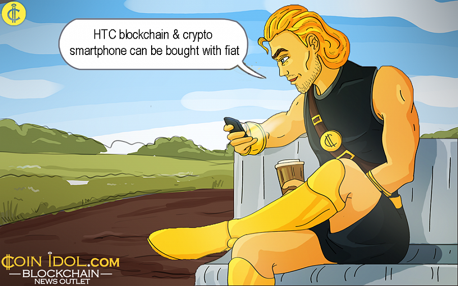 To date, the Blockchain HTC Exodus 1 has, appropriately, only been available for purchase with Bitcoin, Ether, Ripple or other big cryptocurrencies.