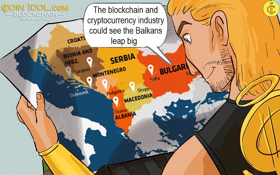 The blockchain and cryptocurrency industry could see the Balkans leap big