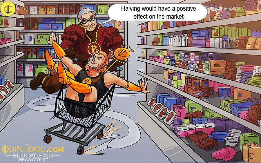 Halving would have a positive effect on the market