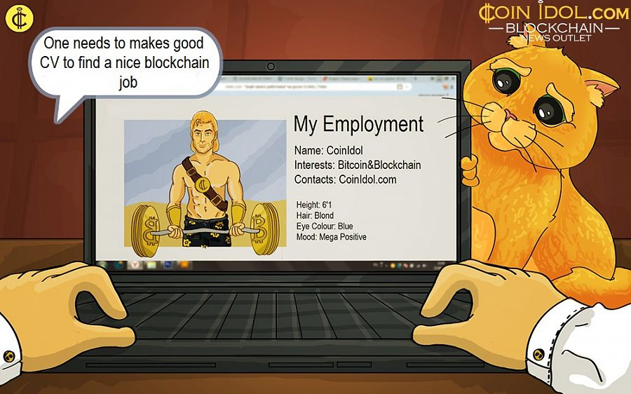 One needs to makes good CV to find a nice blockchain job